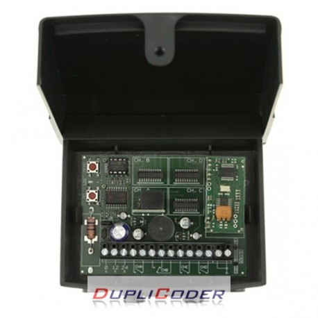 RECEPTOR CARDIN RCQ486100-R4 DE 12/24 V. 1 CANAL + 3 OPCIONAL