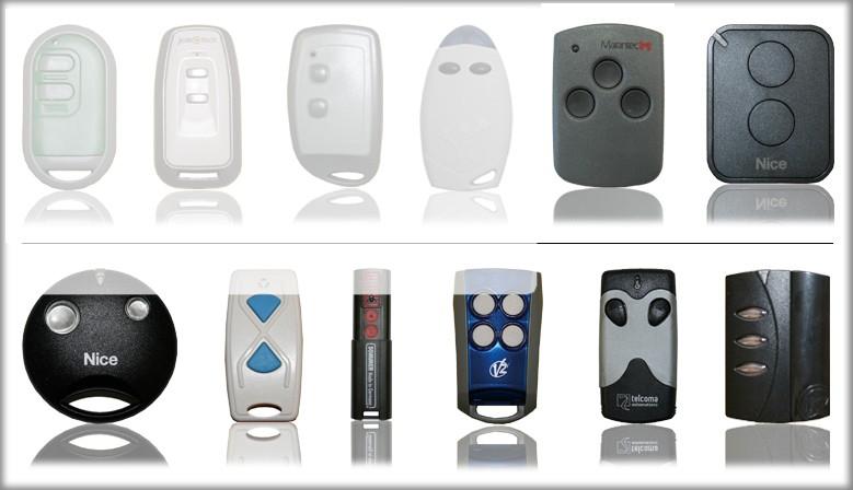 Duplicado de mandos a distancia