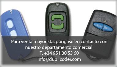 Para venta mayorista, póngase en contacto con nuestro departamento comercial +34 951 30 53 60